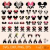 Mickey mouse SVG DXF PNG EPS Bundle
