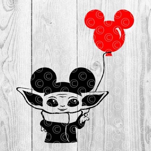 Baby Yoda Mickey Ears Disneyland