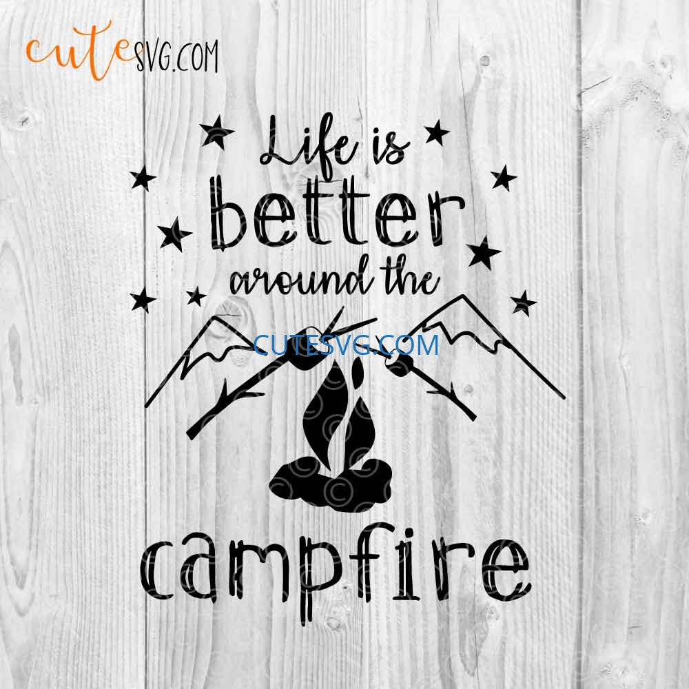 Camping life svg png jpg. Camping life is the best life svg Camping life cutting file
