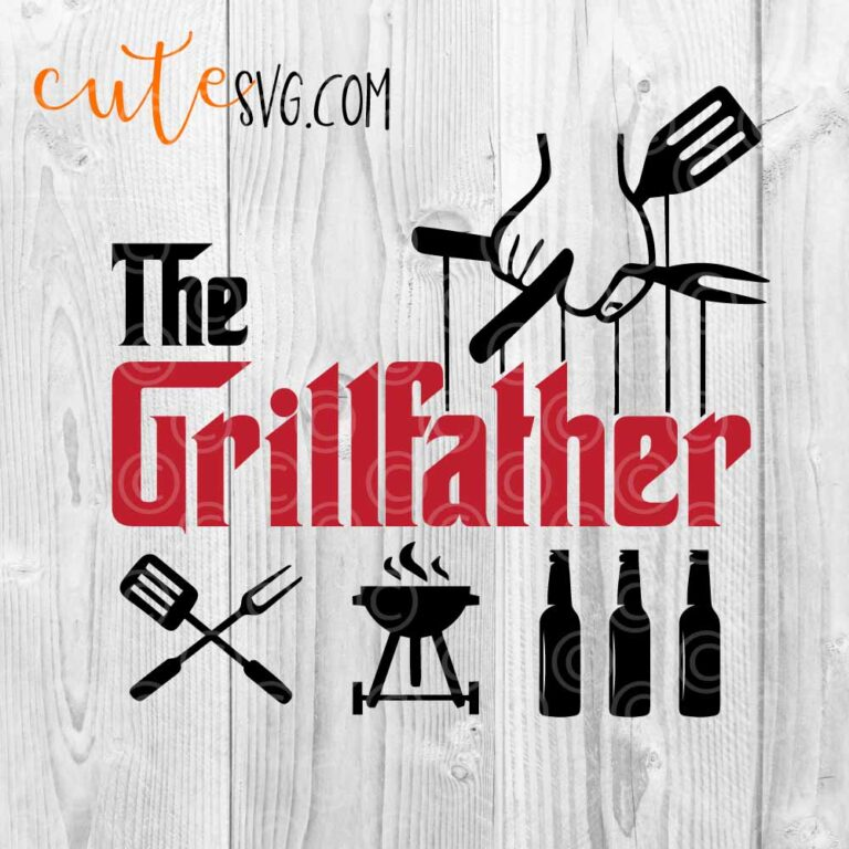 Grillfather SVG DXF PNG
