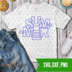 Summer SVG, dxf PNG Cut files Cute svg
