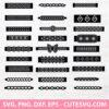 Bracelet SVG Bundle