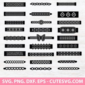 Bracelet SVG Bundle