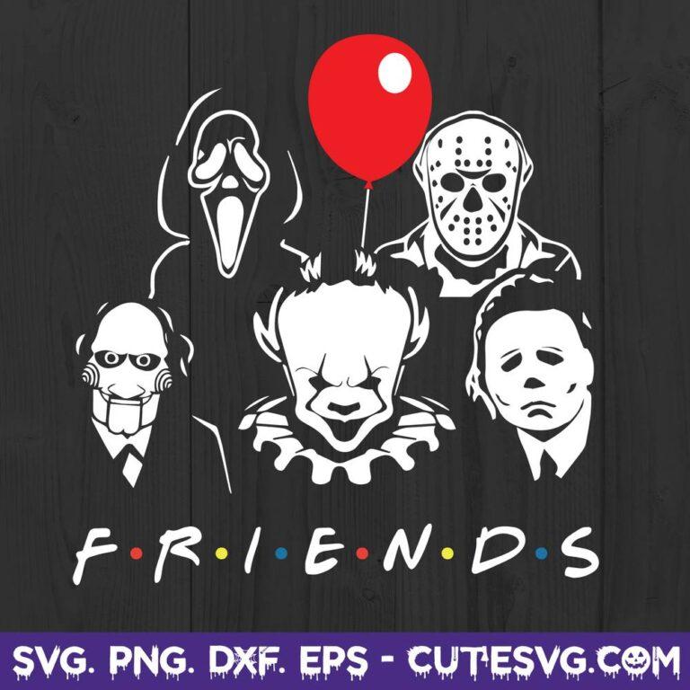 Halloween Horror Movie Killers SVG