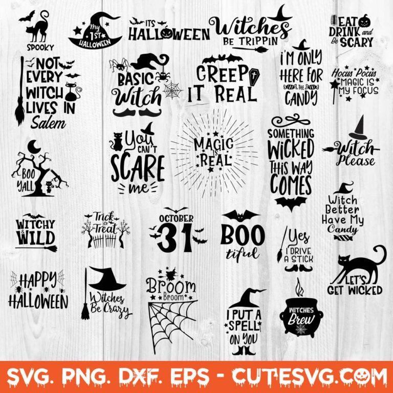 Halloween SVG Bundle