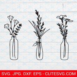 Flowers Vase SVG