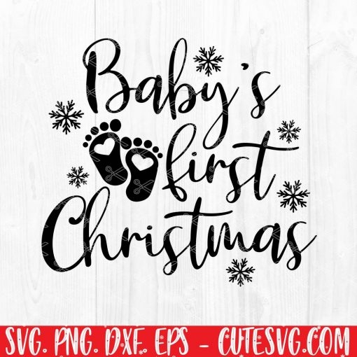 My first christmas SVG File
