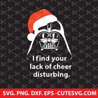 Vader Santa SVG Star Wars SVG