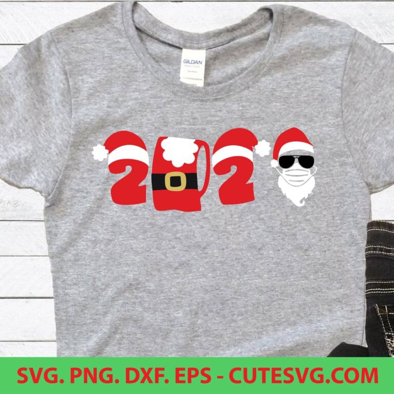 2020 Merry Christmas SVG