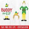 Buddy - Elf Movie - OMG! Santa! I know Him! SVG