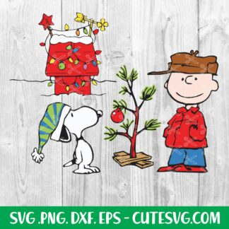 Charlie Brown Christmas Tree SVG