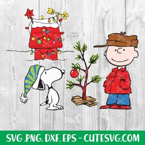 Charlie Brown Christmas Tree SVG