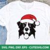 Christmas Dog SVG