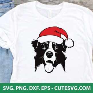 Christmas Dog SVG