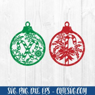 Christmas Ornament SVG