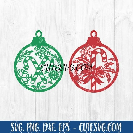 Christmas Ornament SVG