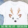 Cute Reindeer SVG Cut File