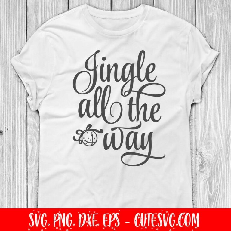Jingle all the way svg