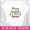 Merry Christmas Ya Filthy Animal SVG