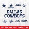 Dallas cowboys svg bundle