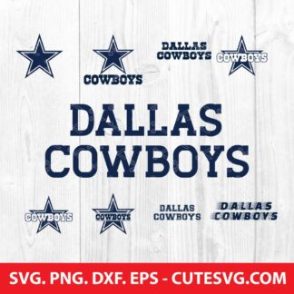 Dallas cowboys svg bundle
