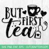 Tea lovers SVG