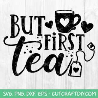 Tea lovers SVG