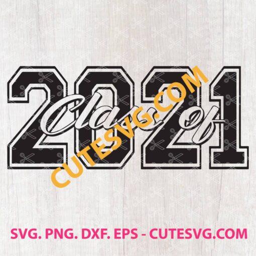 Class of 2021 SVG