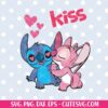 Stitch Kiss SVG