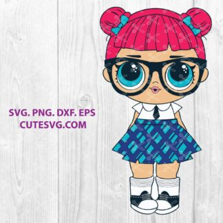 Teachers pet lol doll SVG