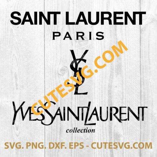 Yves Saint Laurent logo SVG File