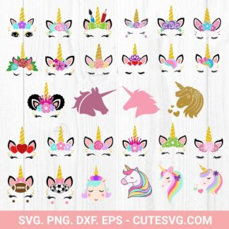 Big Unicorn SVG Bundle