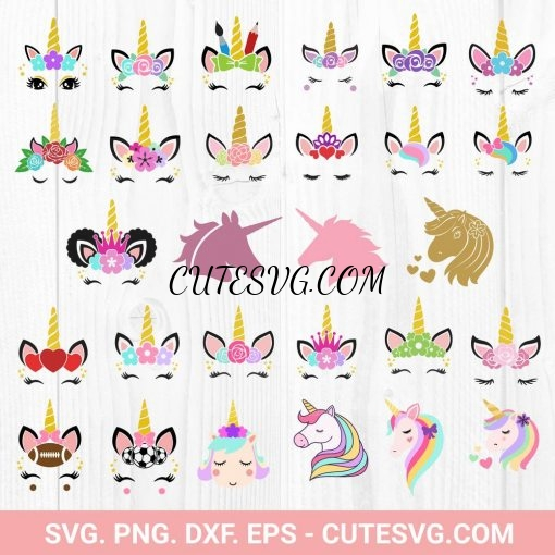 Big Unicorn SVG Bundle