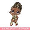 Fierce LOL Surprise Doll SVG