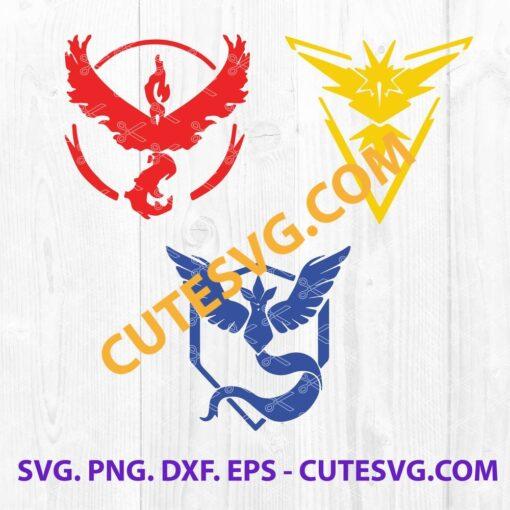 Pokemon Go SVG