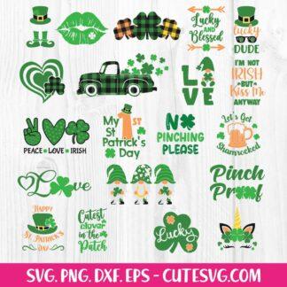 St. Patrick's Day SVG Bundle