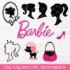 Barbie SVG Bundle Cut File