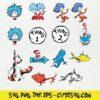 Dr Seuss SVG Cutting File