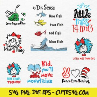 Dr. Suess Bundle SVG