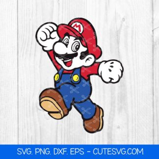 Super Mario Bros SVG files