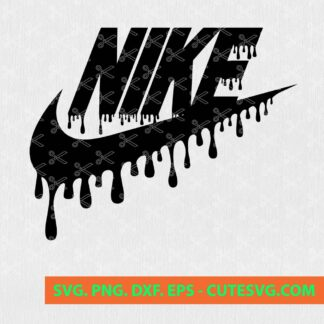 Dripping Nike SVG