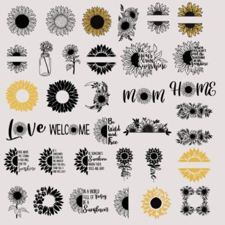 Sunflower SVG Bundle