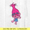 Princess Poppy SVG