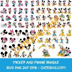 Mega Mickey Mouse Bundle SVG
