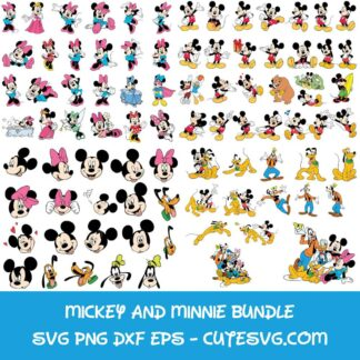 Mega Mickey Mouse Bundle SVG
