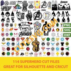 Superhero SVG Bundle