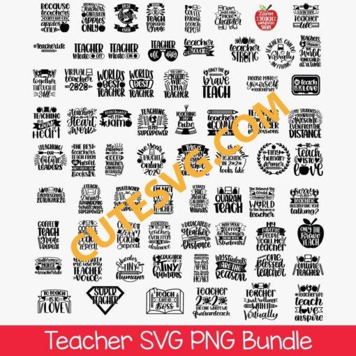 Teacher SVG Bundles