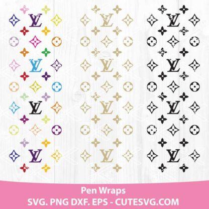 Louis Vuitton Pen Wraps SVG