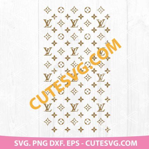 Louis Vuitton pattern svg