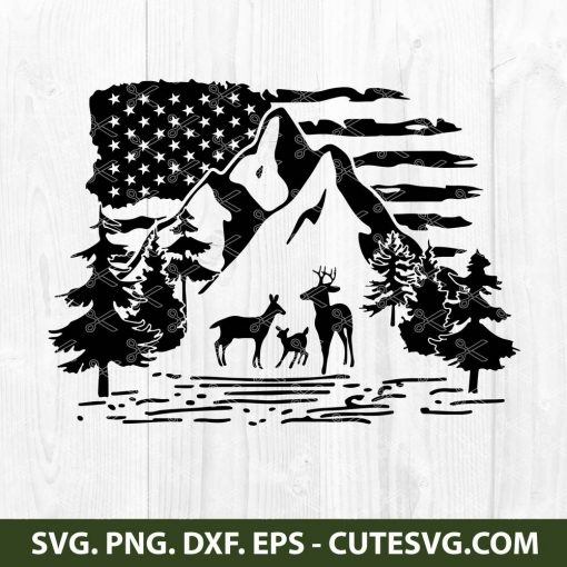 Montain SVG